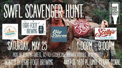 SWFL Scavenger Hunt 4 0 | Coastal Dayz Brewery